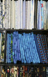 Máscaras do azul Imagem de Stock
