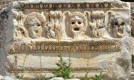 Máscaras gregas Fotografia de Stock