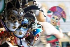 Máscaras venecianas Fotos de archivo