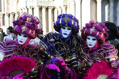 Máscaras Venetian, Veneza, Italy Fotografia de Stock Royalty Free
