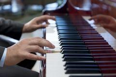 Música clásica del piano Imágenes de archivo libres de regalías