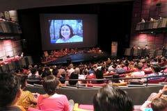 Música de la yoga de Sahaja de Joy Meditation y del concierto de la música en SOTA Singapore Imagenes de archivo