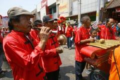 Música del chino tradicional Foto de archivo libre de regalías