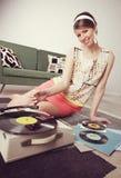 Música del vintage Foto de archivo libre de regalías