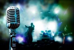 Música en directo Fotografía de archivo libre de regalías