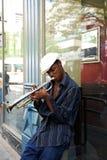 Músico de la calle Imagen de archivo libre de regalías