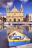 Msida Parish Church Royalty Free Stock Photos