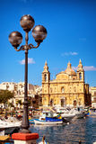 Msida Parish Church. Valletta - Malta stock photos