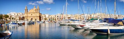 Msida Parish Church. Valletta - Malta stock images