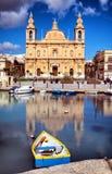 Msida Parish Church. Valletta - Malta royalty free stock images