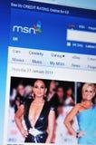 MSN foto de archivo
