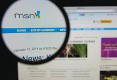 MSN 免版税库存图片