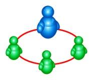 Msn Gruppen-Leuteikone 2 vektor abbildung
