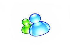 MSN messenger Stock Photography