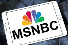 Msnbc logo Obraz Stock
