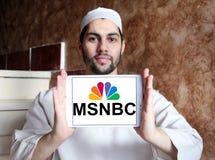 Msnbc logo Obraz Royalty Free