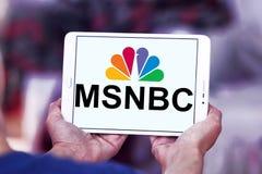 Msnbc logo Zdjęcie Stock