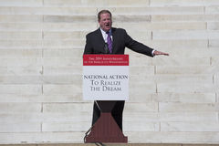 MSNBC TV host and liberal activist Ed Schultz Royalty Free Stock Photography