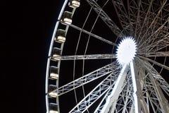 Mässajordstort hjul Arkivfoto