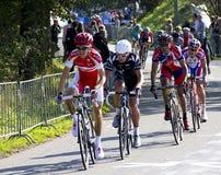 mästerskapelitmän race vägucivärlden Royaltyfri Fotografi