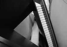 MSU宽广的美术馆内部 库存照片