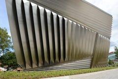 MSU宽广的美术馆外部 免版税图库摄影