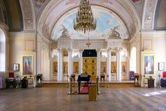 MSU的寺庙受难者塔蒂亚娜 免版税库存图片
