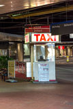MSY, taxi stand Royalty Free Stock Image