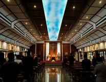 Msza w kościół Zdjęcie Royalty Free