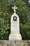 Mszalny grób żołnierze 14 korpusu wojskowego Varna Bułgaria Zdjęcie Stock