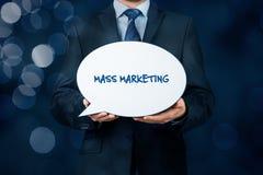 Mszalny marketing zdjęcia royalty free