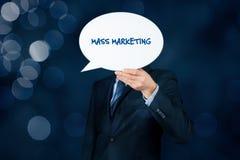 Mszalny marketing obraz stock