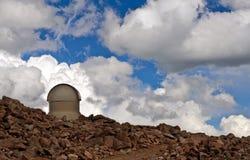 Mt伊万斯Astromomical科学观测所 免版税库存图片