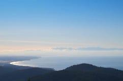 从Mt伊利的顶端看法 免版税库存图片