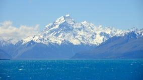 Mt厨师,新西兰 库存图片