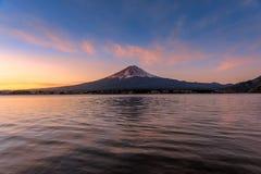 Mt富士日出 免版税库存照片