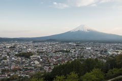 Mt富士视图 免版税库存照片