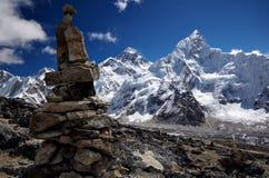 Mt珠穆琅玛看法  库存图片