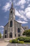 Mt的圣玛丽大教堂 天使俄勒冈 库存照片