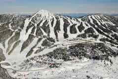 Mt的空中图象 华盛顿, BC,加拿大 库存图片