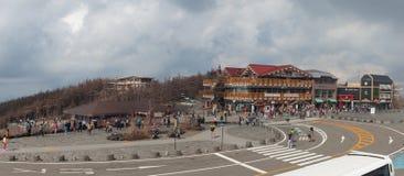 Mt 5ème station de Fuji Photographie stock libre de droits