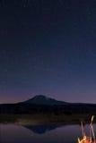 Mt Адамс на ноче Стоковое Фото