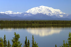 Mt Блэкберн Стоковое Фото