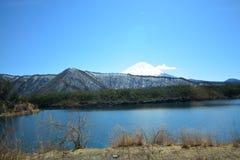 Mt взгляд fuji mt стоковое изображение