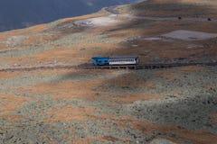 Mt Железная дорога Cog Вашингтона, Нью-Гэмпшир, США Стоковая Фотография RF