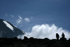 Mt Килиманджаро, Танзания, Африка Стоковое Изображение