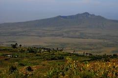 Mt Кратер Longonot, Great Rift Valley, Кения Стоковое Фото
