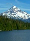 Mt Клобук, потерянное озеро Стоковое фото RF
