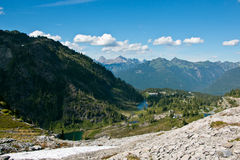 Mt Национальный лес хлебопека-Snoqualmie Стоковое фото RF