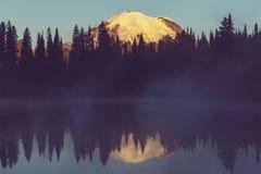 Mt ненастно стоковая фотография